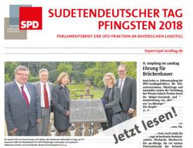 Zeitung zum Sudetendeutschen Tag 2018