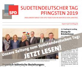 Hier lesen Sie die Zeitung zum Sudetendeutschen Tag.
