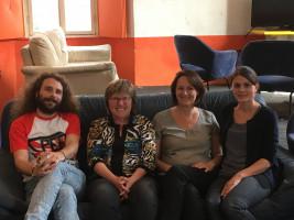 Ilona Deckwerth im Jugendzentrum Lindau
