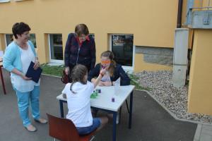 Parcour der Sinne an der Lobkowitz-Realschule in Neustadt an der Waldnaab