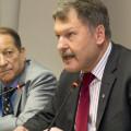 Prof. Dr. Peter Paul Gantzer und Peter Schall