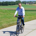 Rinderspacher auf Radltour - der SPD-Landtagsfraktionschef unterwegs im Landkreis Aichach-Friedberg