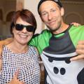 Diana Stachowitz und Skateboad-Weltmeister Tobias Kupfer