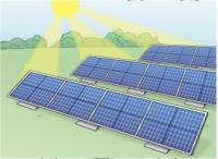 Zeichnung: Sonnenkollektoren