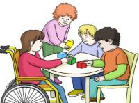 Zeichnung: Kinderbetreuung