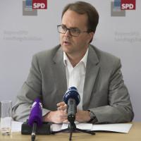 Markus Rinderspacher bei PK