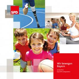 Sportbroschüre der BayernSPD-Landtagsfraktion