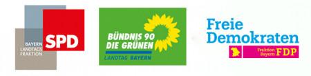 Logo Grüne FDP SPD