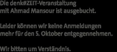 Mansour_Ausgebucht
