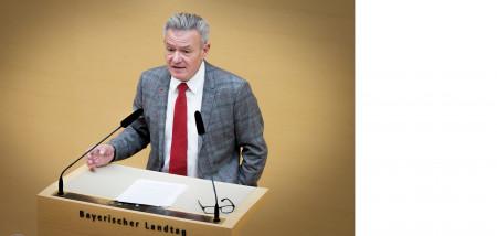 Horst Arnold im Plenum