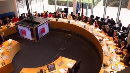 Plenum der bayerischen SPD-Abgeordneten aus Bund und Land
