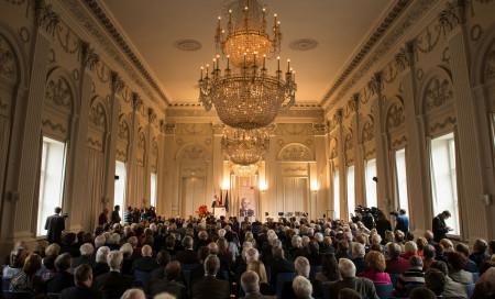 Festakt in der Münchner Residenz zum Wilhelm_Hoegner-Preis für EU-Parlamentspräsident Martin Schulz