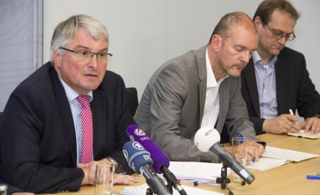 Harald Güller bei PK