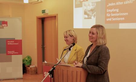 Martina Fehler und Doris Rauscher