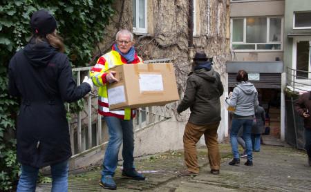 Hilfstransport nach Idomeni II