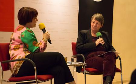 Diana Stachowitz im Gespräch mit Barbara Hendriks