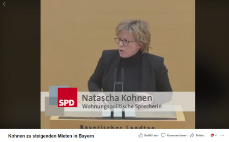 Natascha Kohnen Mieten 11. Februar
