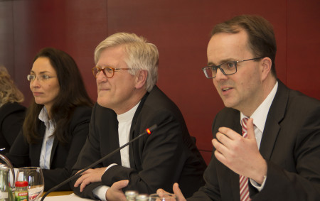 Fraktionsvorsitzendenkonferenz Bedford-Strohm