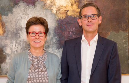 Isabell Zacharias und Andreas Lotte