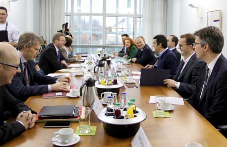 Integrationsgespräch in der Staatskanzlei
