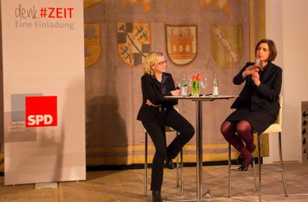 talk#ZEIT: Natascha Kohnen und Prof. Dr. Jutta Allmendinger