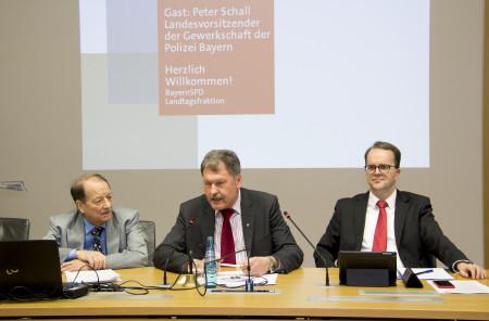 Prof. Dr. Peter Paul Gantzer, Peter Schall und Markus Rinderspacher