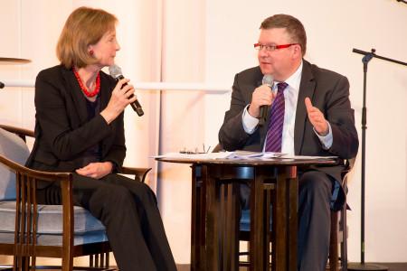 Dr. Hildegard Kronawitter und Volkmar Halbleib