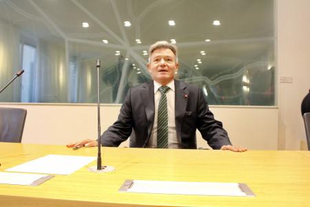 SPD-Rechtsexperte Horst Arnold