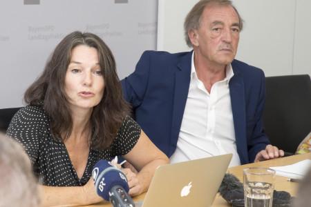 Regina Rick und Franz Schindler