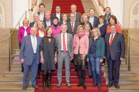 Gruppenbild Fraktion 18. Legislatur