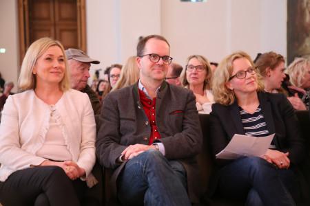 v.r.n.l.: Natascha Kohnen, Markus Rinderspacher, Doris Rauscher