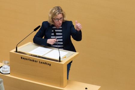 Natascha Kohnen im Bayerischen Landtag
