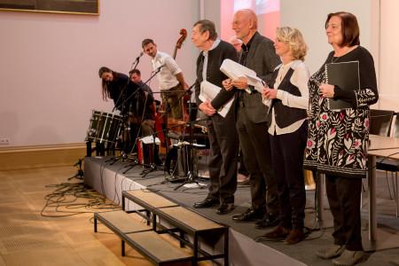 Rotes Bayern - die Künstler wurden vom Publikum begeistert gefeiert