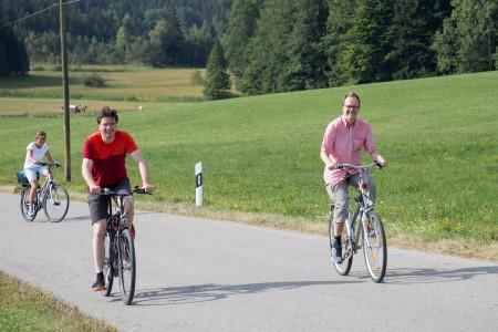 Florian von Brunn (rechts) und Markus Rinderspacher