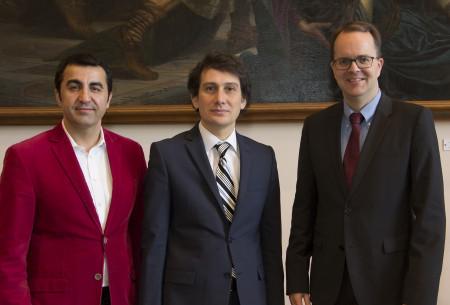 __Arif Tasdelen__, der türkische Generalkonsul __Mesut Koc__ und SPD-Fraktionschef __Markus Rinderspacher__