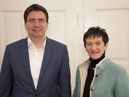 Inge Aures + Florian von Brunn