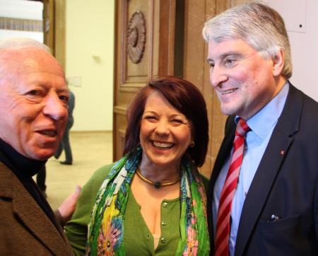 Diana Stachowitz und Harald Güller