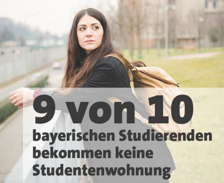 Studenten in Wohnungsnot