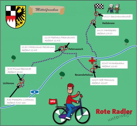 Rote Radler Ansbach