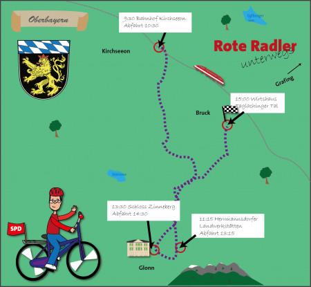 Radlkarte Ebersberg