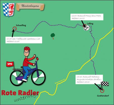 Deggendorf Rote Radler 2018