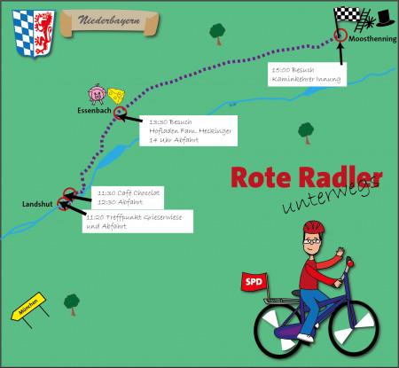 Landshut Rote Radler 2018