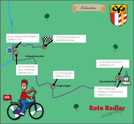 Rote Radler Herbert Woerlein