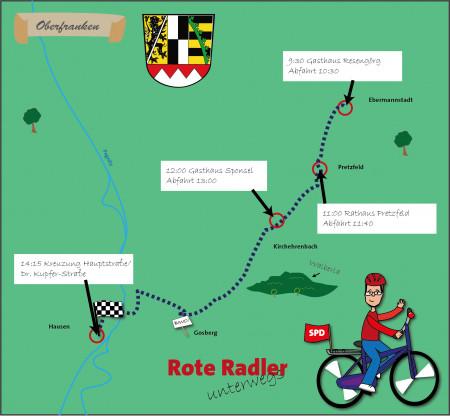 Rote Radler Forchheim