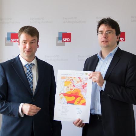 Prof. Dr. Kurt Faßbender und Florian von Brunn