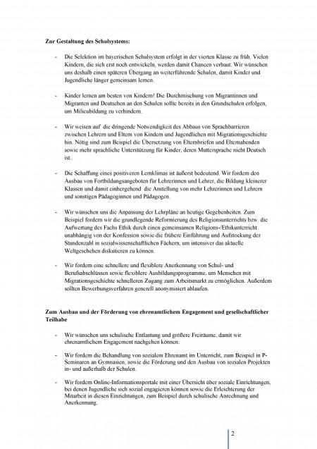 Jugendparlament 2015 - Offener Brief - Seite 2