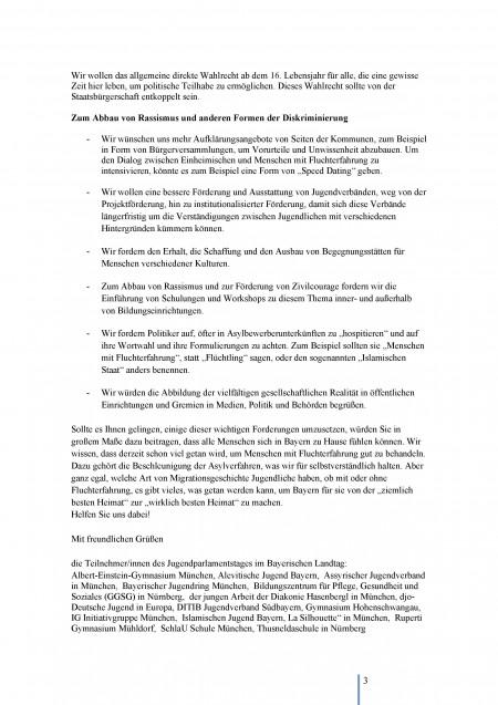 Jugendparlament 2015 - Offener Brief - Seite 3