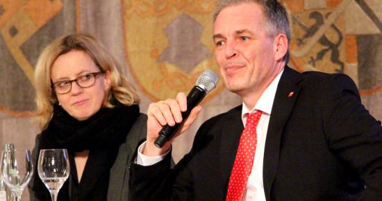 Natascha Kohnen und Matthias Jena
