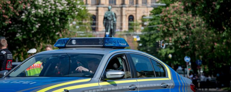Polizei Landtag Foto