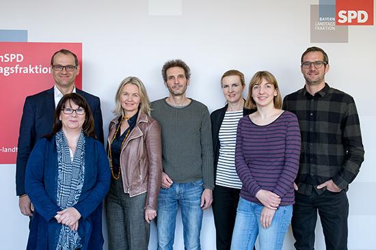 Gruppenbild der Pressestelle
